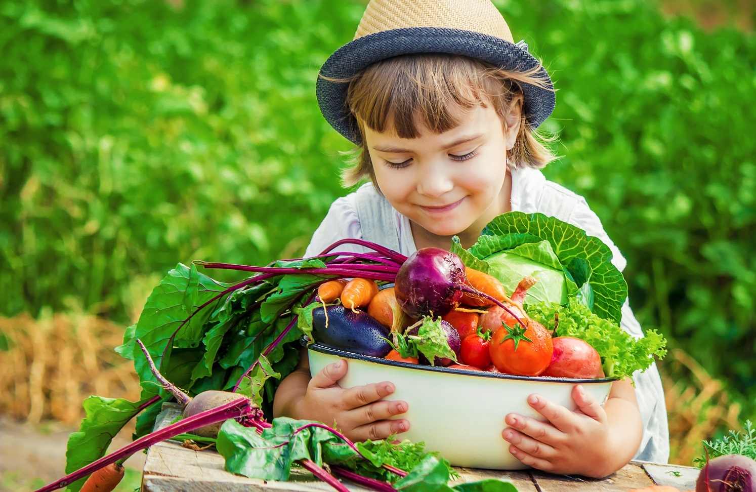 Tuinbouw op pad voor gezonde voeding
