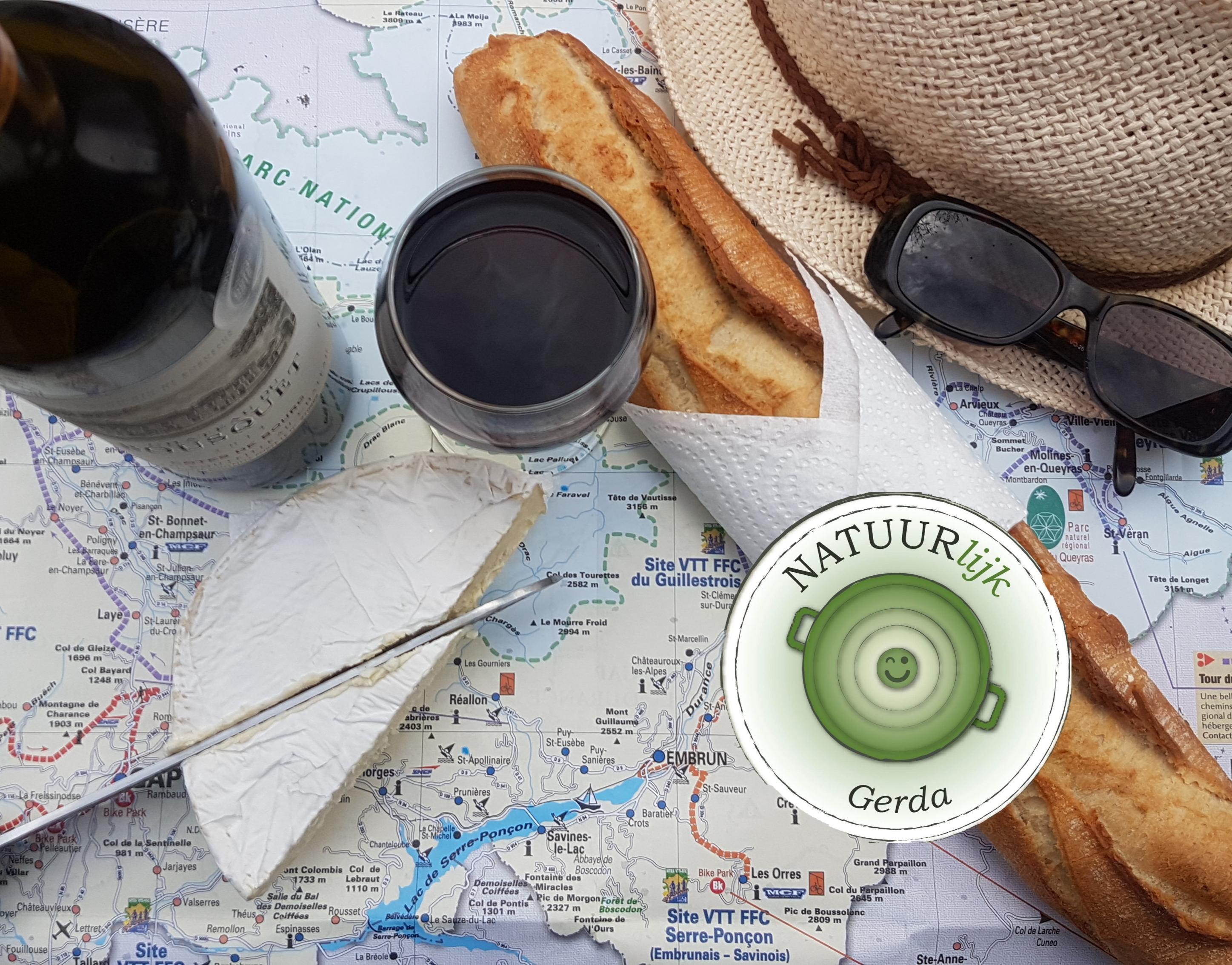 Recept voor deze week: du pain, du vin & du boursin ofwel du joie de vivre!