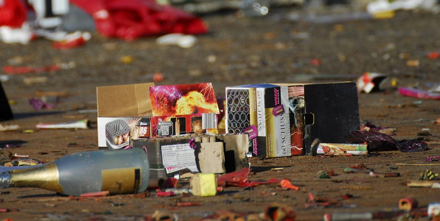 Wederom veel ernstige ongelukken met vuurwerk tijdens de jaarwisseling